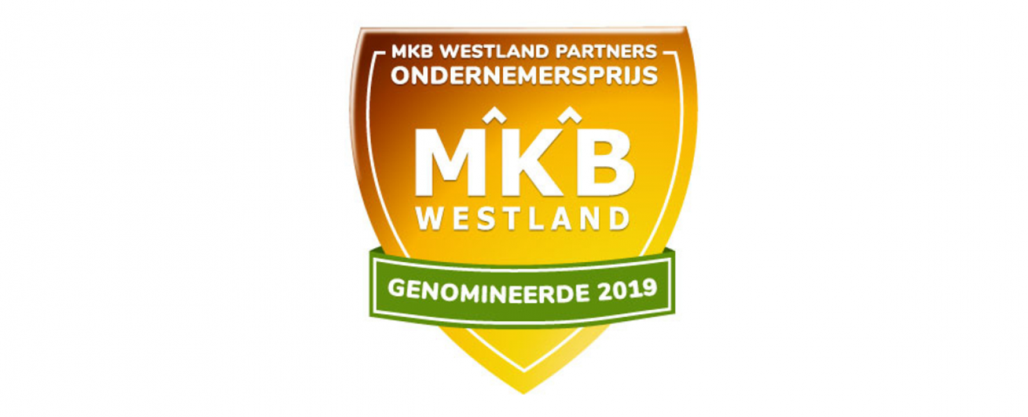 Nominatie MKB Westland Partners Ondernemersprijs 2019