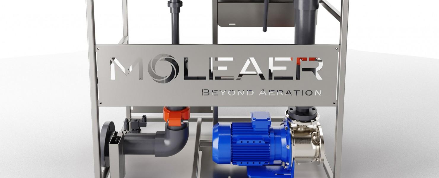PB tec en Moleaer werken samen aan innovatieve oplossingen in de watertechniek.
